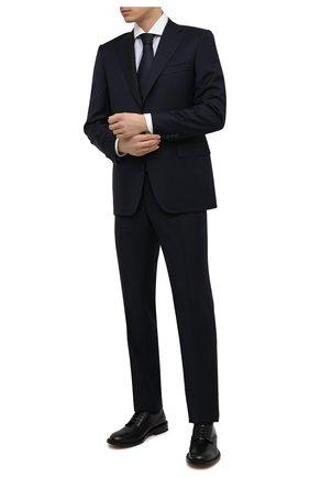 Мужская хлопковая сорочка CANALI серого цвета, арт. 7C3/GD01876   Фото 2