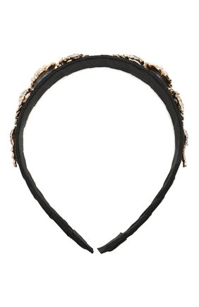 Детского ободок DAVID CHARLES черного цвета, арт. 6715 | Фото 1