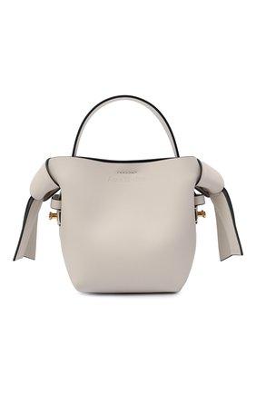 Женская сумка musubi micro ACNE STUDIOS белого цвета, арт. A10095 | Фото 1