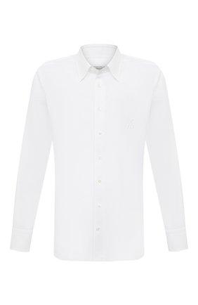 Мужская льняная сорочка ZILLI белого цвета, арт. MFV-13091-338562/0006   Фото 1