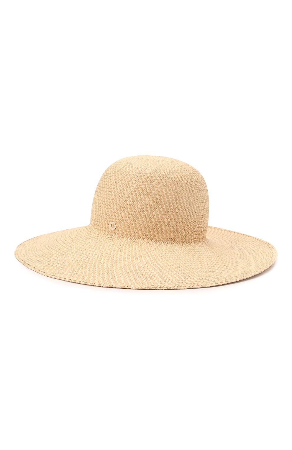 Женская соломенная шляпа LORO PIANA бежевого цвета, арт. FAL6521   Фото 2 (Материал: Растительное волокно)