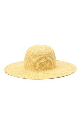 Женская соломенная шляпа LORO PIANA желтого цвета, арт. FAL6521 | Фото 2