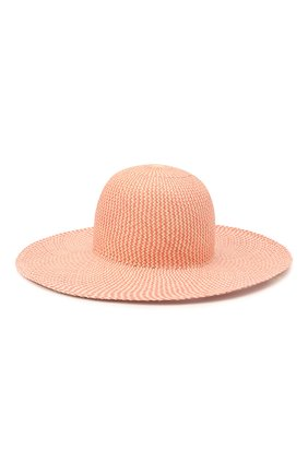 Женская соломенная шляпа LORO PIANA розового цвета, арт. FAL6521 | Фото 1