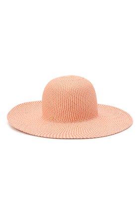 Женская соломенная шляпа LORO PIANA розового цвета, арт. FAL6521 | Фото 2