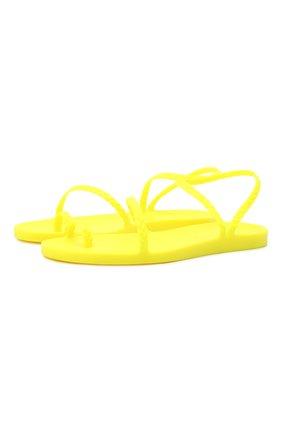 Женские сандалии eleftheria ANCIENT GREEK SANDALS желтого цвета, арт. ELEFTHERIA/FLU0 YELL0W | Фото 1