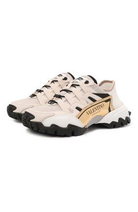 Текстильные кроссовки Valentino Garavani Climbers | Фото №1