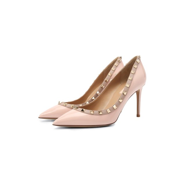 Кожаные туфли Valentino Garavani Rockstud Valentino