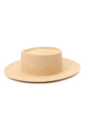 Женская соломенная шляпа LORO PIANA бежевого цвета, арт. FAL6599 | Фото 2