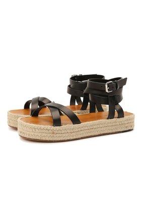 Кожаные сандалии Malay   Фото №1