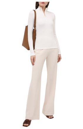 Женская водолазка VINCE белого цвета, арт. V711983621 | Фото 2