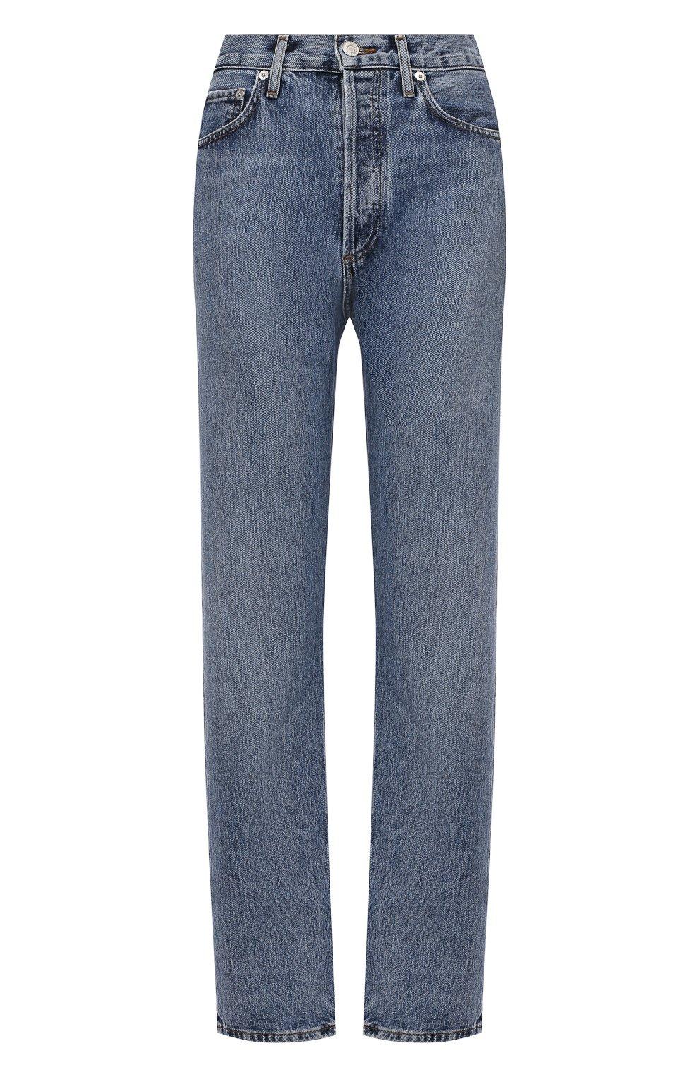 Женские джинсы AGOLDE синего цвета, арт. A154-1206   Фото 1