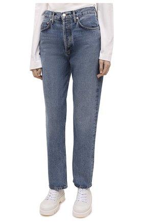 Женские джинсы AGOLDE синего цвета, арт. A154-1206   Фото 3