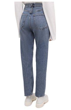 Женские джинсы AGOLDE синего цвета, арт. A154-1206   Фото 4