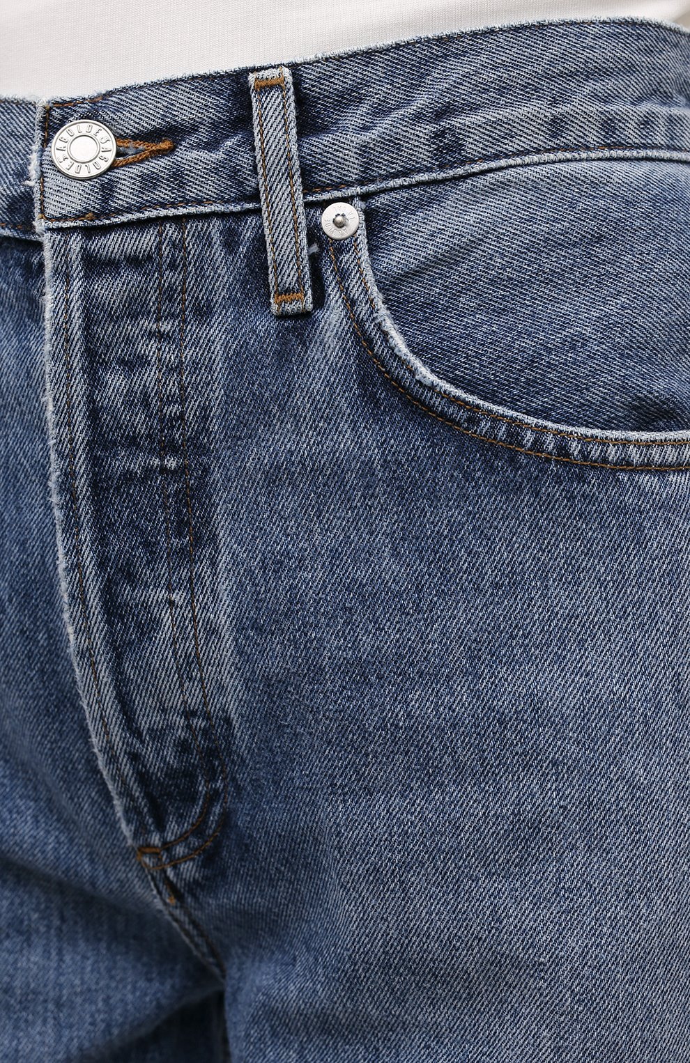 Женские джинсы AGOLDE синего цвета, арт. A154-1206   Фото 5