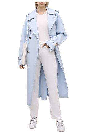 Женские джинсы AGOLDE белого цвета, арт. A154-1183 | Фото 2