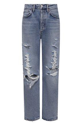 Женские джинсы AGOLDE синего цвета, арт. A069E-1141   Фото 1