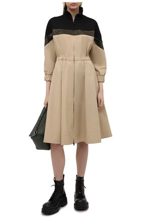 Женское платье MONCLER бежевого цвета, арт. G1-093-2G709-00-5499N   Фото 2