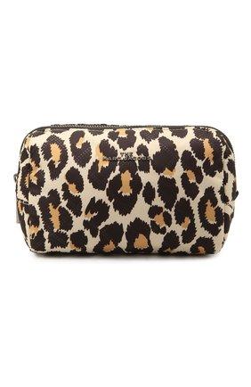Женская текстильная косметичка MARC JACOBS (THE) леопардового цвета, арт. M0017097   Фото 1