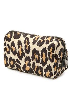 Женская текстильная косметичка MARC JACOBS (THE) леопардового цвета, арт. M0017097   Фото 2