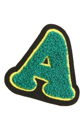 Женского нашивка MARC JACOBS (THE) зеленого цвета, арт. M0017051 | Фото 2