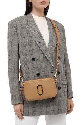Женская сумка the softshot 21 MARC JACOBS (THE) бежевого цвета, арт. M0014591   Фото 2