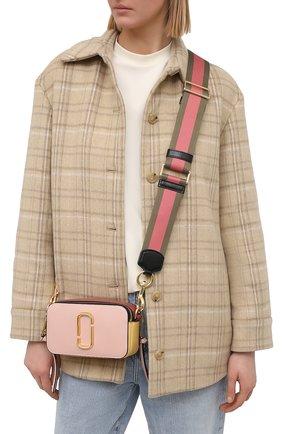 Женская сумка snapshot small MARC JACOBS (THE) розового цвета, арт. M0012007   Фото 2
