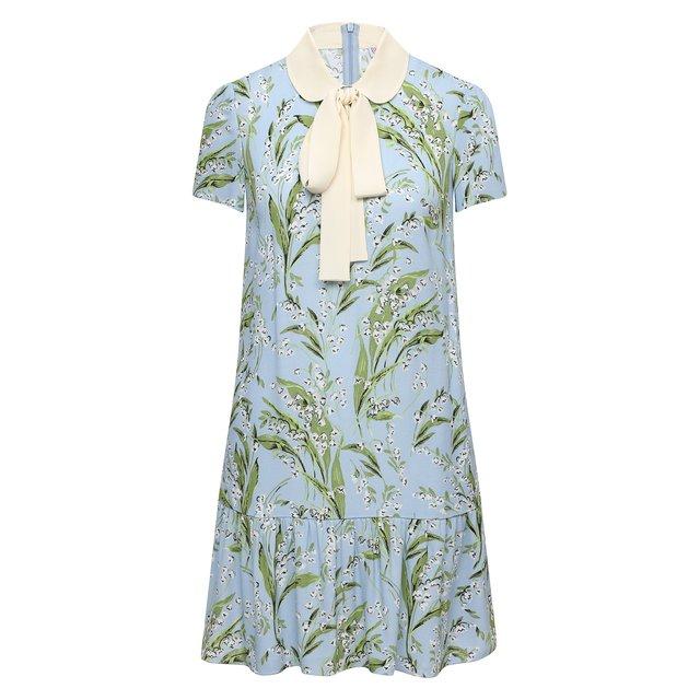 Платье из вискозы REDVALENTINO