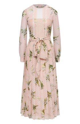 Женское платье REDVALENTINO светло-розового цвета, арт. VR3VAW35/5LV | Фото 1