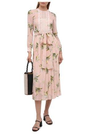 Женское платье REDVALENTINO светло-розового цвета, арт. VR3VAW35/5LV | Фото 2