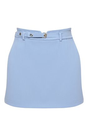 Женская юбка-шорты REDVALENTINO голубого цвета, арт. VR3RFE50/2EU | Фото 1