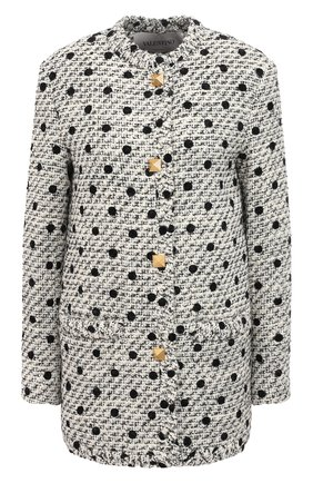 Женский жакет VALENTINO черно-белого цвета, арт. VB3CE28069M | Фото 1