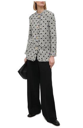 Женский жакет VALENTINO черно-белого цвета, арт. VB3CE28069M | Фото 2