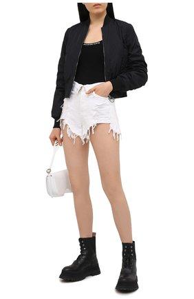 Женский пуловер ALEXANDERWANG.T черного цвета, арт. 4KC1211024 | Фото 2