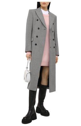 Женское шерстяное платье ALEXANDERWANG.T розового цвета, арт. 4KC1206012 | Фото 2