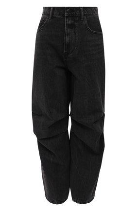 Женские джинсы DENIM X ALEXANDER WANG темно-серого цвета, арт. 4DC1214902   Фото 1