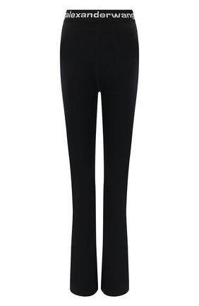 Женские брюки ALEXANDERWANG.T черного цвета, арт. 4CC1214075 | Фото 1