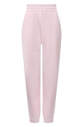 Женские хлопковые джоггеры ALEXANDERWANG.T розового цвета, арт. 4CC1204061 | Фото 1