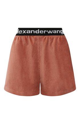 Женские шорты ALEXANDERWANG.T коричневого цвета, арт. 4CC1204025 | Фото 1