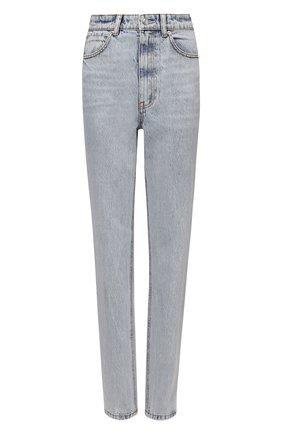 Женские джинсы DENIM X ALEXANDER WANG голубого цвета, арт. 1WC1214323   Фото 1