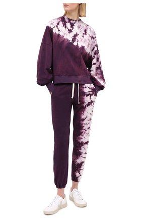 Женские хлопковые джоггеры ELECTRIC&ROSE разноцветного цвета, арт. LFBT20-SH0RE | Фото 2