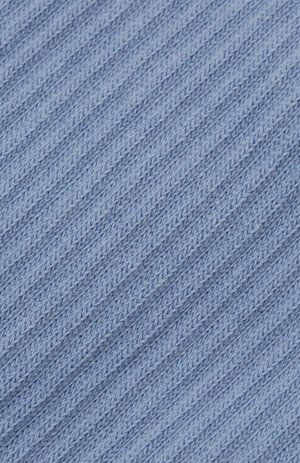 Женские хлопковые носки JACQUEMUS голубого цвета, арт. 211AC09/500350 | Фото 2