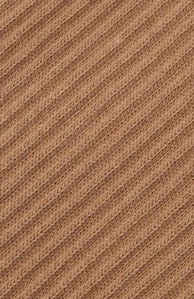 Женские хлопковые носки JACQUEMUS коричневого цвета, арт. 211AC09/500880 | Фото 2