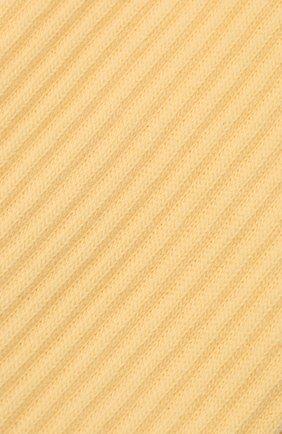 Женские хлопковые носки JACQUEMUS желтого цвета, арт. 211AC09/500200 | Фото 2