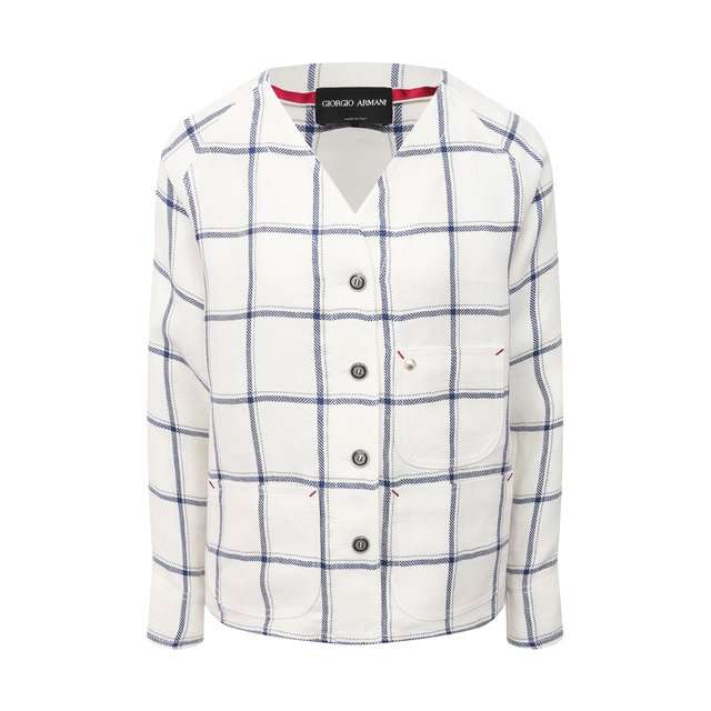 Льняная рубашка Giorgio Armani