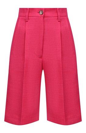 Женские шорты FORTE DEI MARMI COUTURE фуксия цвета, арт. 21SF9005 | Фото 1