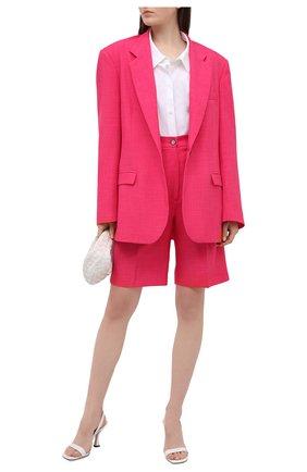 Женские шорты FORTE DEI MARMI COUTURE фуксия цвета, арт. 21SF9005 | Фото 2