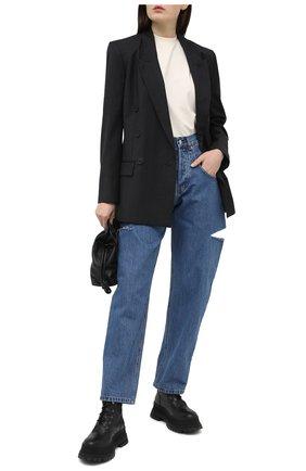Женские джинсы FORTE DEI MARMI COUTURE синего цвета, арт. 21SF9053 | Фото 2