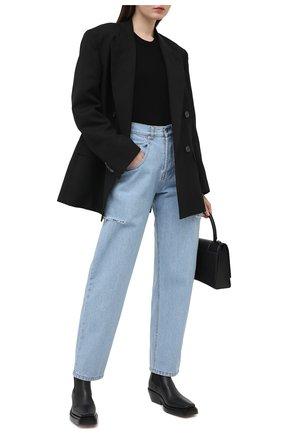Женские джинсы FORTE DEI MARMI COUTURE голубого цвета, арт. 21SF9053-1 | Фото 2