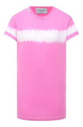 Женская хлопковая футболка FORTE DEI MARMI COUTURE разноцветного цвета, арт. 21SF9200 | Фото 1