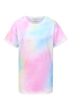 Женская хлопковая футболка FORTE DEI MARMI COUTURE разноцветного цвета, арт. 21SF9208 | Фото 1